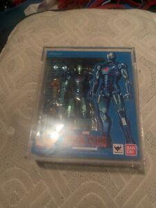 Iron Man Mark 3 Blue Stealth figure S.H.Figuarts Marvel Avengers | miyabihobby