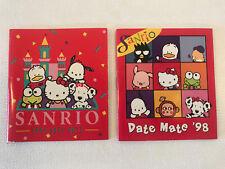 Rare Vintage Sanrio Hello Kitty Mini Calendar Datemate Date Mate 2-Pcs Lot 1990s