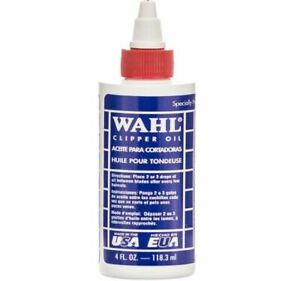 Wahl Genuine Clipper Oil 118ml for Hair Clippers HAIR TRIMMER Made in USA