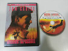 MISSION IMPOSSIBLE 1 DVD + EXTRAS TOM CRUISE ENGLISH FRANCAIS REGION 1