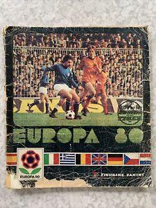 Panini Europa 80 Complete Sticker Album 198O European Championship