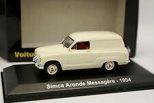 Norev 1/43 - Simca Aronde Mensajero 1954 Blanco