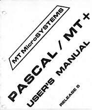 Pascal/MT+ - Language Reference & Applications Guide - 1980 ~200 Pages