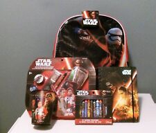 Star Wars Backpack The Force Awakens with School Supplies