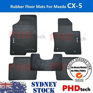 Tailor Made All Weather rubber car floor mats for NEW Mazda CX-5 KF 2017-2021