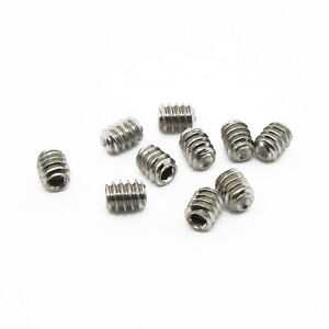 #5-40 x 1//4 Coarse Thread Socket Set Screw Cup Point Stainless Steel 18-8 Pk 25