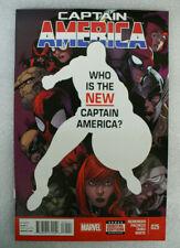 Captain America #25 1St Sam Wilson As Captain America! !Vf/Nm 9.0! Marvel 2013