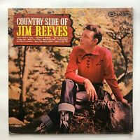 The Country Side Of Jim Reeves LP 1962 RCA Camden CAL-686 Country Record Album