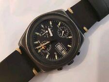 Dugena Lemania 5100, automatic chronograph,  military,  Flieger - Pilot