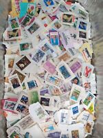 Kiloware: Used U.S. On Paper. One Pound 1lb. Lot of Stamps.