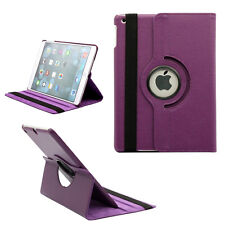 For New iPad 2018 6 Gen SMART ROTATING SHOCKPROOF LEATHER CASE (All MODELS)