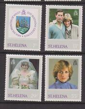 1982 Princess Diana 21st Birthday MNH Stamp Set St Helena SG 397-400