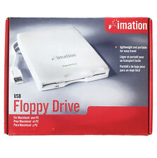 Imation USB Floppy Drive Model D353FUE For Macintosh & Pc Systems