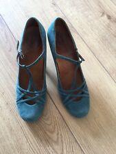 Chie Mihara Women's Size 6 EU 39 Green Heels