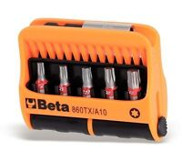 BETA TOOLS ITALY TORX STAR SCREWDRIVER BIT SET T7 - T40