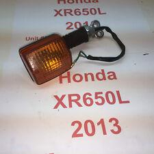 2013 Honda XR650L RF signal light Right Front wiring bracket lens  video 107