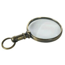 Pendant Magnifier Duotone Bronze Finish Pocket Magnifying Glass