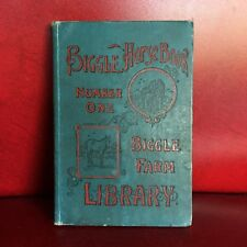 1894 Antique BIGGLE HORSE BOOK Farm Library Number One 1st Edition