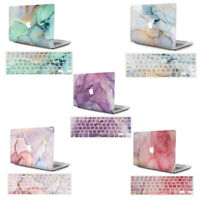 2in1 Marbled Matte Hard shell Case + Keyboard cover for MacBook Air Pro13 Touch
