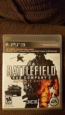 Battlefield: Bad Company 2 (Ultimate Edition, Sony PlayStation 3, PS3, 2010)