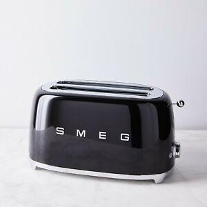 Smeg 4-slice toaster, Black