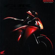 Honda CBR Fireblade Moto Sport Motorcycle sales brochure prospectus 2007