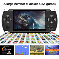 "Handheld Game Console 64 Bit 4.3"" PSP 8GB Video Game Player With 10000 Games New"