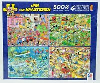 Ceaco Jan Van Haasteren Jigsaw Puzzle Pack 4 - 500 piece Puzzles