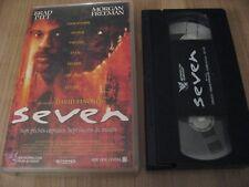 SEVEN VHS FRENCH BRAD PITT MORGAN FREEMAN GWYNETH PALTROW