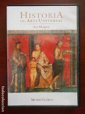 DVD MUNDO CLASICO - HISTORIA DEL ARTE UNIVERSAL - ARS MAGNA - COMO NUEVA (4O)