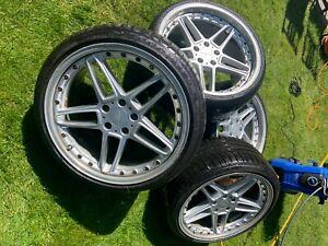 "Genuine AC Schnitzer Type 3 Alloy Wheels, 20"" x 9.5J 10.5J BMW RARE"