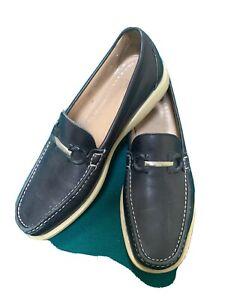 Ferragamo Mens Boat Shoes 11 D