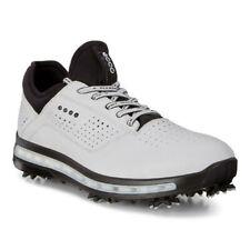 Ecco Mens Golf Cool Goretex Shoes White Dritton Size 43 (UK 9-9.5)