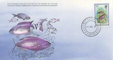 COLLECTION TIMBRES DE LA MER FONDATION COUSTEAU / FAUNE / ¨POISSON 1981