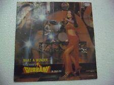 QURBANI IN ENGLISH wah funk wild dance dope SHARON BIDDU LP RECORD BOLLYWOOD EX