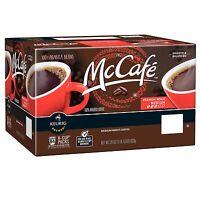 McCafe Premium Roast Coffee K Cups 84 K-cup Single Packs for Keurig Brewers