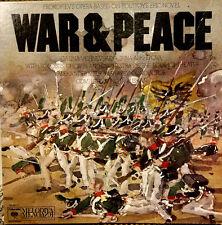 Prokofiev War & Peace 4xLP Vishnevskaya Bolshoi Columbia/Melodiya M4 33111 Vinyl