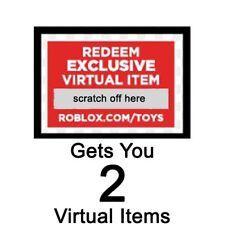Roblox Redeem 2 Virtual Items Online Code