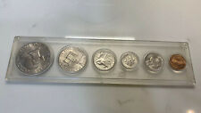 More details for 1976 - usa bicentennial uncirculated 5 coin cased set in acrylic case dollar