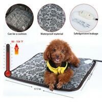 Pet Heated Warmer Bed Waterproof Pad Puppy Dog Bed Cat Mat Electric Heater Mat