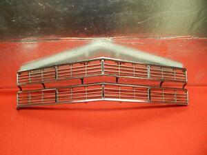 USED 67 Galaxie 500 XL LTD Center Radiator Grille #C7AZ-8200-B Diecast Type