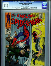 Amazing Spider-man #59  CGC 7.5 Silver Age Marvel Comic 1st Mary Jane Cover K31