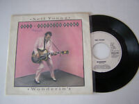 SP 2 TITRES , VINYLE 45 T , NEIL YOUNG , WONDERIN '  . G + / VG