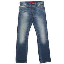 REPLAY Herren Jeans Hose WAITOM Straight Slim M 983 Laser blue blau 19812
