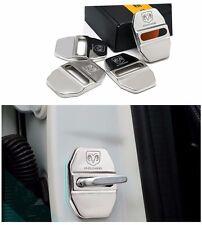 Stainless steel Door Lock Striker Cover for Dodge Journey Caliber Avenger Ram