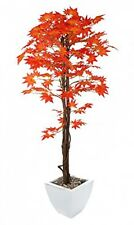 Closer2Nature Artificial 5ft Red Japanese Maple Tree - Portofino Planter Not