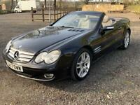 2007 07 MERCEDES SL 350 AMG FSH PAN ROOF