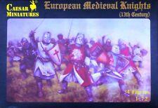 Soldatini 1/72  Medieval European Knights 13th Century- Caesar Miniatures H087