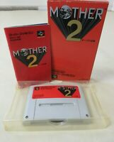 Mother 2 Earthbound Super Famicom SNES SFC Nintendo boxed manual tasted  Japan