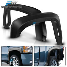 Fits 07-13 Chevy Silverado 1500 Short Bed OE Style Trunk Fender Flares Trim